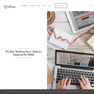 The Best Wedding Favor Websites [Updated for 2020]