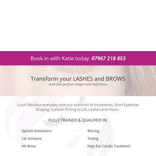 Lovely Lashes & Brows - Eyelash & Eyebrow Treatments, Waxing & Teeth Whitening in Gloucestershire