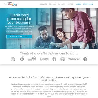 Credit Card Processing & Merchant Services - North American Bancard