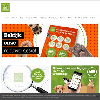 Dierspecialist - Dé delicatessewinkel voor huisdieren en hun baasjes!