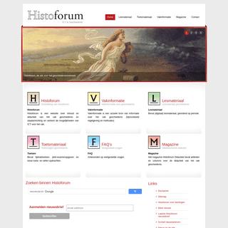 Histoforum, de site voor geschiedenis en ict