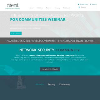 Merit – Connecting Organizations, Building Communities