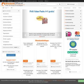 Kantoorartikelen en nog veel meer - DiscountOffice.nl
