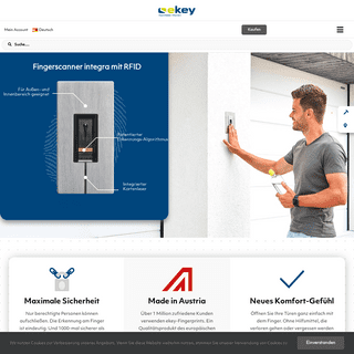 ekey - Europas Nr. 1 bei Fingerprint Zutrittslösungen