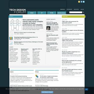 Tech Design Forum - Technical information for electronics design