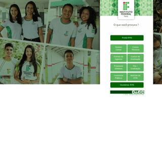 IFPA - Portal de Entrada