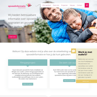Opvoedinformatie Nederland - voor betrouwbare opvoedinformatie