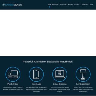 MobileBytes - POS for iPad
