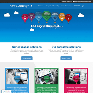 NetSupport Ltd - Innovative software solutions for schools and enterprises
