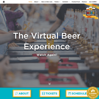 Virtual GBBF - Virtual Great British Beer Festival