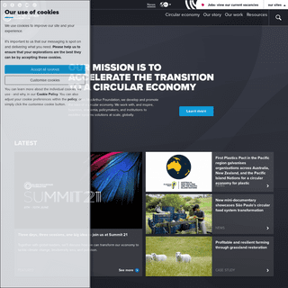 Circular Economy - UK, USA, Europe, Asia & South America - The Ellen MacArthur Foundation
