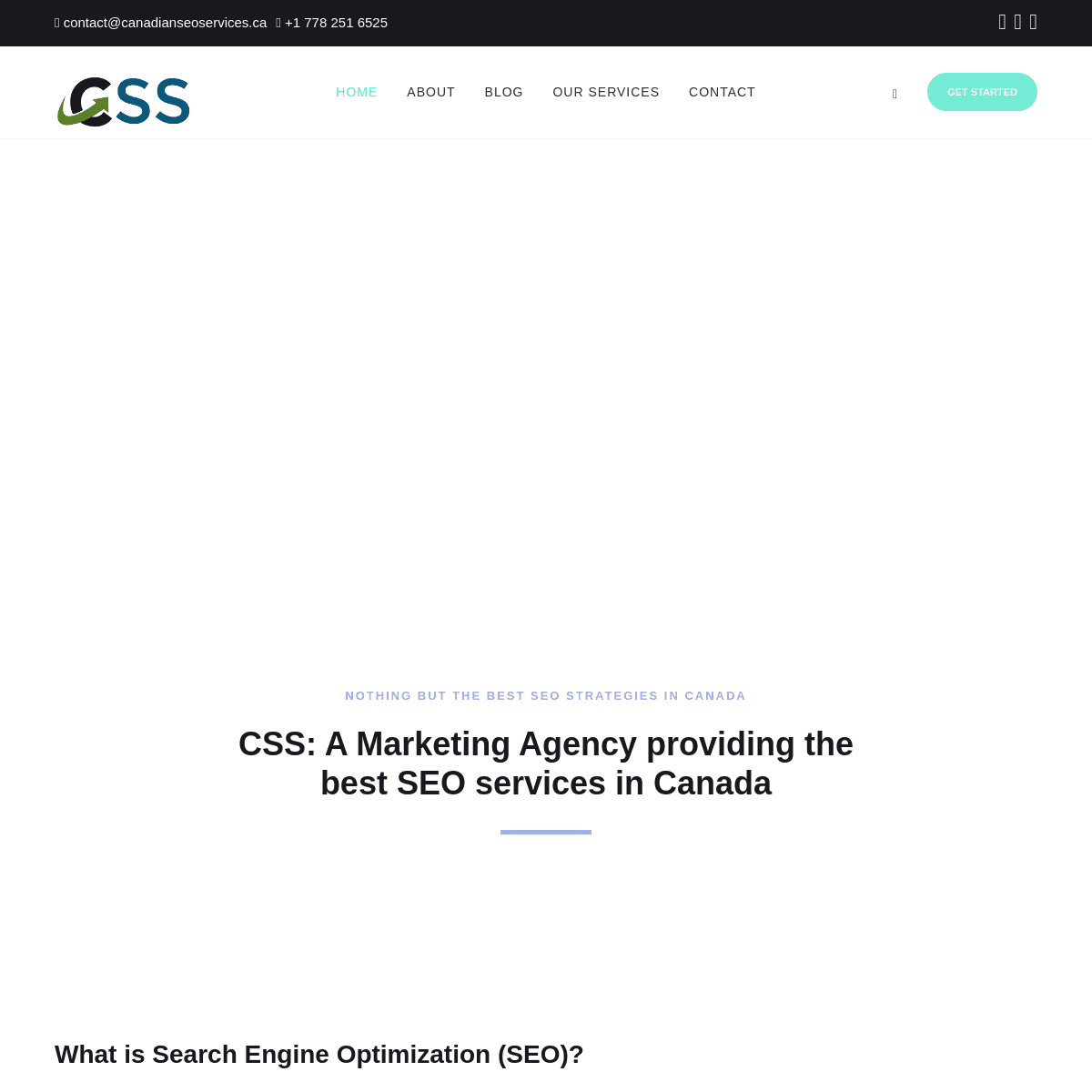 Canadian SEO Services- Best SEO Agency in Canada
