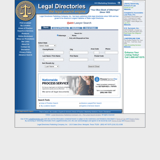 Find Lawyer, Attorney, Law Firms, Attorneys, Legal Information. LegalDirectories.com