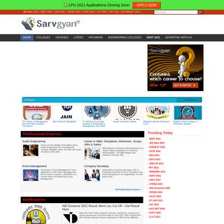 SarvGyan- Career Guidance Portal of India
