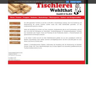 Home - Tischlerei Wohlthat GmbH & Co.KG
