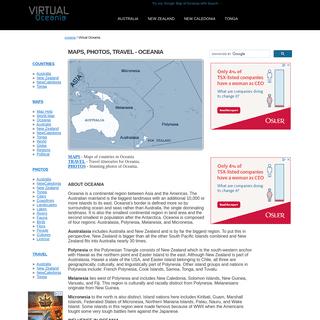Virtual Oceania
