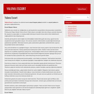 Yalova Escort - Yalova Escort Bayan