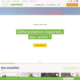 Rejoignez le mouvement - Greenpeace France
