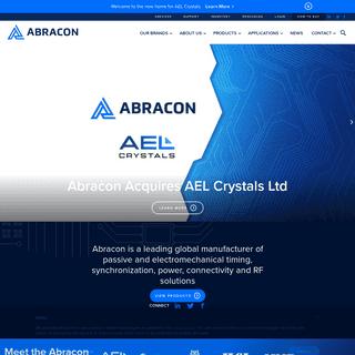 Abracon - Crystal & MEMS Oscillator, TCXO, VCXO, Quartz Crystals