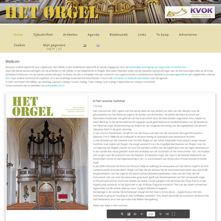 Het ORGEL - Europa's oudste tijdschrift over orgelkunst