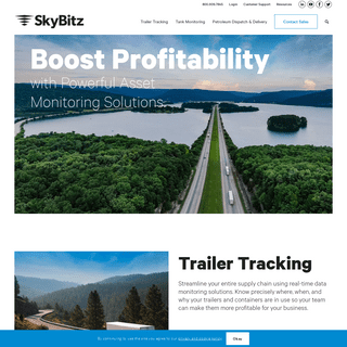 Wireless Solutions for Asset Tracking and Monitoring - SkyBitz