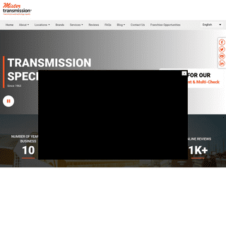 Mister Transmission - Transmission and Technology Experts
