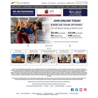 LA Fitness - Gym and Fitness Club - Join Today