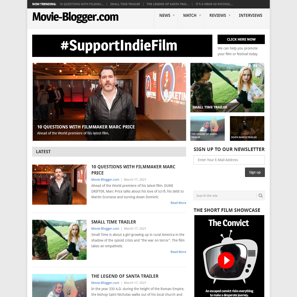 Movie-Blogger.com - Movies... and a whole lot more!