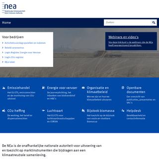 Home - Nederlandse Emissieautoriteit
