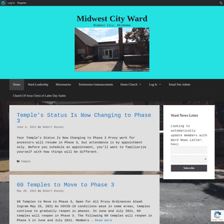 Midwest City Ward – Midwest City, Oklahoma