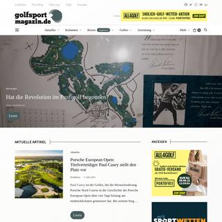 Golfsportmagazin ⛳️ Alles, was Golf ist! Golfreisen & mehr