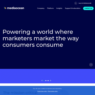 Mediaocean- The Mission-critical Platform for Omnichannel Advertising