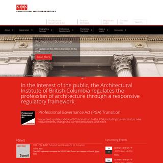 AIBC – Architectural Institute of British Columbia