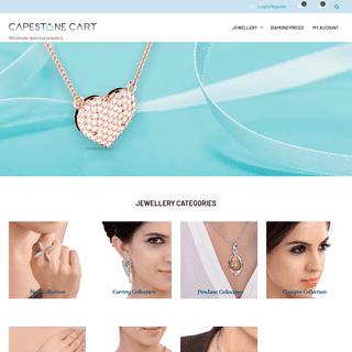 Capestonecart – Wholesale diamond jewellery