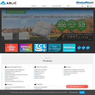 ABLIC Inc. - ABLIC is an evolving analog semiconductor manufacturer.