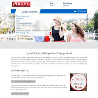 Language courses & language schools Worldwide - Sprachcaffe
