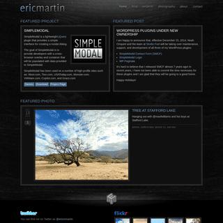 Eric Martin - ericmmartin.com