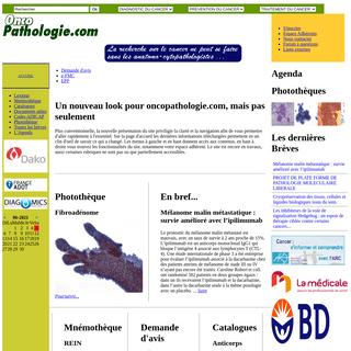 oncopathologie - diagnostic, prévention, traitement du cancer