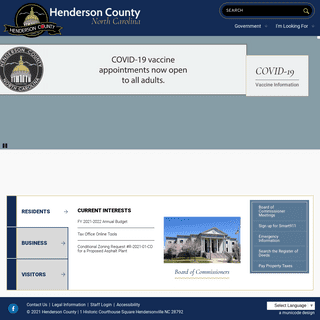 Home Page - Henderson County North Carolina