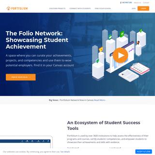 Portfolium Network- Showcase Your Skills in an ePortfolio