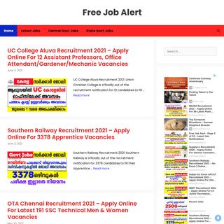 Free Job Alert - Latest Job Notifications