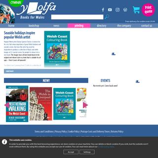 Y Lolfa Home Page - Y Lolfa