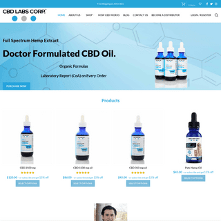 Buy Quality CBD Oil Online- CBD Oil for Stress, Anxiety and Concentration