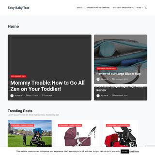 EasyBabyTote.com - Best Baby Gear Reviews