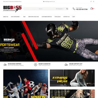 Big Boss International – Manufacturer & Exporter of all kind of Motorbike, Cycling, Fitness wear, Sports wear, Casual Wear & F