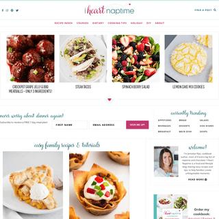 I Heart Naptime - Easy Family Friendly Recipes