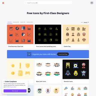 Free icons by first-class designers - Iconstore