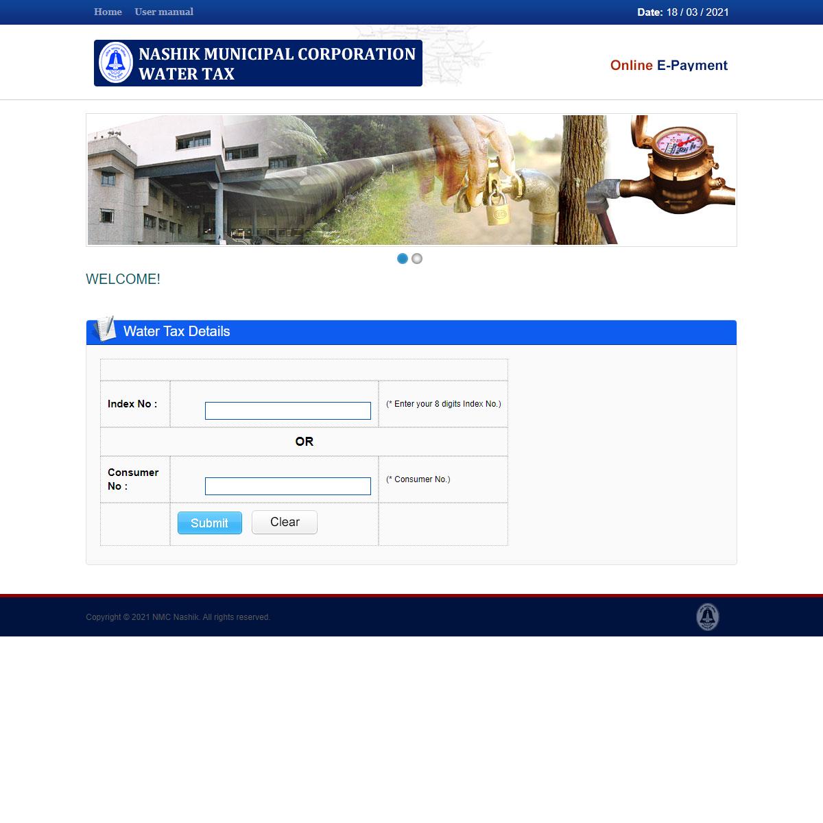 Water Tax Online