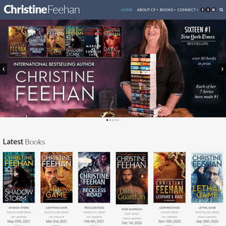 The Official Web Site of Bestselling Author Christine Feehan