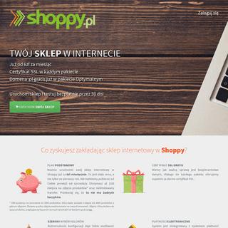 Załóż sklep internetowy w Shoppy!